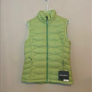 New Eddie Bauer Puffer Down Vest Jacket